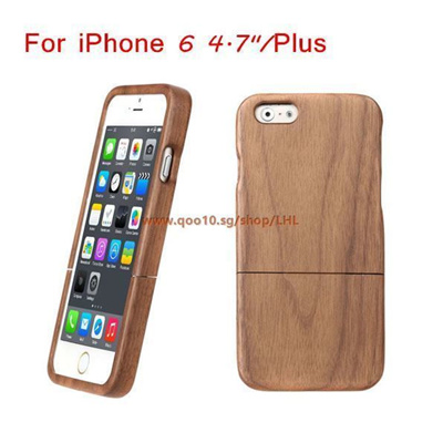 Lightweight Wooden Design Fashion Environmental Protective Phone Case For iphone 6/iphone 6 plus