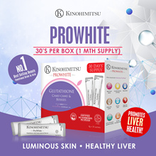 Kinohimitsu PROWHITE 1 x 30s (1MTH SUPPLY) with 100% NATURAL MACQUI Berry extracts (Beauty)