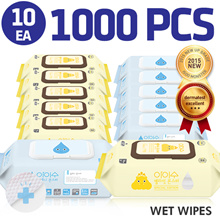 [27th restocked]♥KIDS♥[In Singapore]Baby Wet Wipes 1000pcs Super sale[lovien] ★ I-Su Baby Wet Wipes