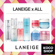 LANEIGE WATER SLEEPING MASK LIP CLEANSER CREAM SERUM TONER SKIN REFINER TEACHERS DAY GIFT