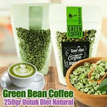 Murah ! Green Bean Coffee/Biji Kopi Hijau 250gr Untuk Diet Natural
