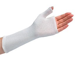 ▶$1 Shop Coupon◀  Rolyan Thumb Spica Stockinette, Cotton Wrist Sleeve for Extra Comfort in Splints,