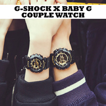 Couple Watch G Shock X Baby G Analog Digital For Him For Her