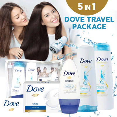 DOVE NUTRITIVE SOLUTION VOLUME NOURISHMENT SHAMPOO CONDITIONERROLL ON BODY WASH FACIAL FOAM Deals for only Rp75.000 instead of Rp75.000