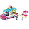 new product 3be5e 0a408 outlet New Girls Series Heartlake City Girls Max S Ice Cream Car Set  Building Blocks Brick