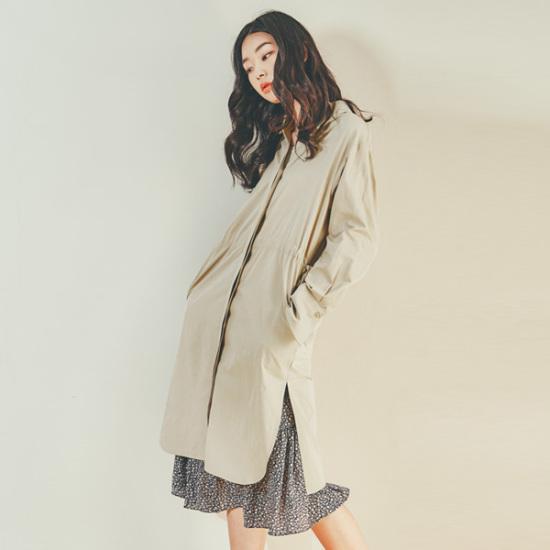 ナインNAINリボンシャツ、ワンピースOP3160 面ワンピース/ 韓国ファッション