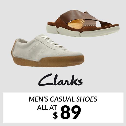 Qoo10 - CLARKS Mens Casual Shoes : Men