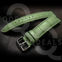 [Singapore Stock] New 6 Matte Colors Genuine Leather Fashion Watch Band Watch Straps- 18mm/20mm/22mm