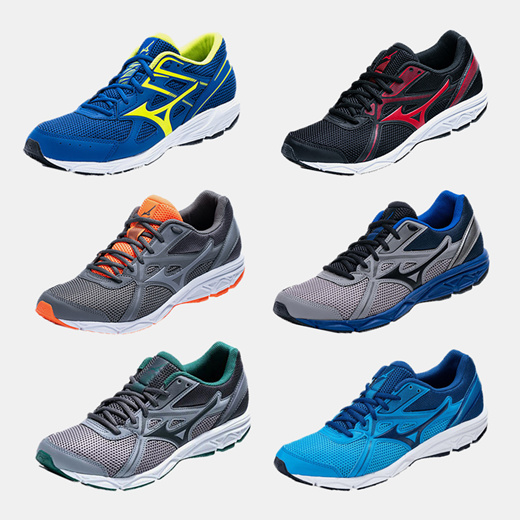 [S$39.90](▼64%)[Mizuno]Mizuno® Authentic Running Sports Shoes / Sneaker / Training / Fitness / Gym / 24 Type / Promotion