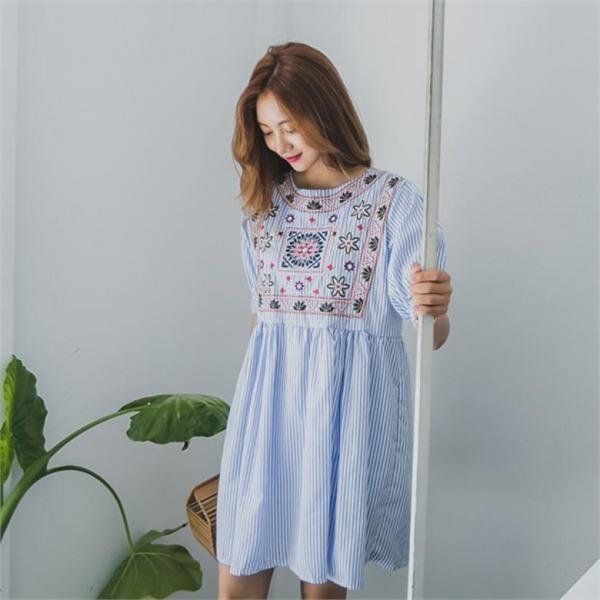 床自首ワンピースnew ノースリーブ/トップワンピース/ワンピース/韓国ファッション