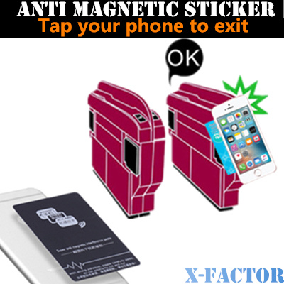 the best attitude 62eaa 07715 Anti Magnetic Sticker for Ezlink card for iphone 6 case/iphone 6 plus  case/Samsung Phone