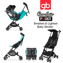 POCKIT RECLINE STROLLER / GB Pockit+ Plus 2017 | fit in a carry-on lggage The Worlds Smallest and