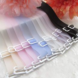 Bra Accessories* Fabric Mulit-Colours Silicone Bra Straps Transparent Translucent Non-reflective