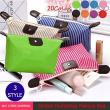 Buy 3 Free Shipping 、Lovely Dumpling Makeup Bag、 Folding Makeup Wash Bag、Travel Bag、Waterproof