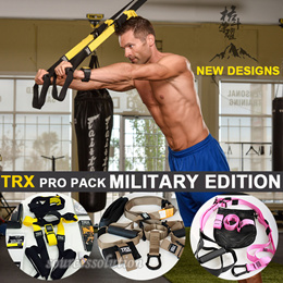 TRX Tactical Training Force Kit|TRX Suspension Pro Pack 2 / T3/P3 Military Edition + FREE Door Anchor|TRX Professional Pack |TRX Rip Trainer