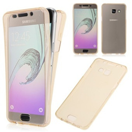 Soft TPU Rubber Back Case for Samsung Galaxy A5 (Gold)