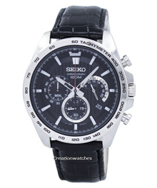 [CreationWatches] Seiko Chronograph Quartz Tachymeter SSB305 SSB305P1 SSB305P Mens Watch