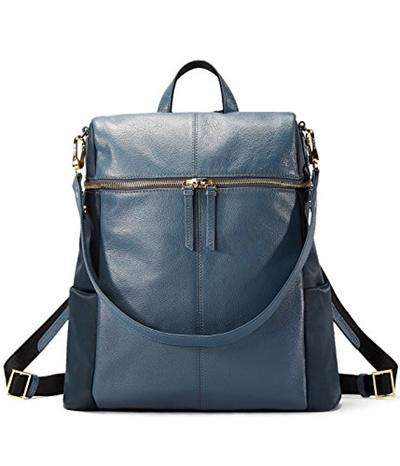 9f3ddcaf6e30 EMINI HOUSE Fashion Women Backpack Genuine Leather School Bag Girls  Shoulder Bag Ladies Daily Purse