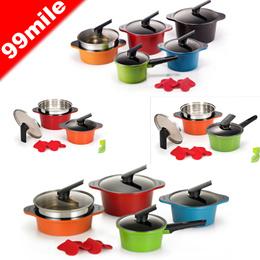 [Happycall]alumite ceramic pot set/주방용품/냄비세트