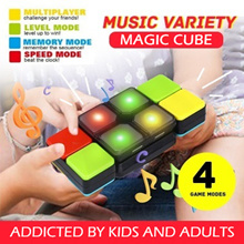 Music Magic Cube with Light / Flipslide Puzzle Toy for All Ages