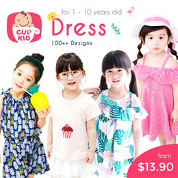 827c88936 CupKidsLove❤ 27 July New ❤ 1-12Y ❤ Girls Korean Style Fashion Dresses ❤