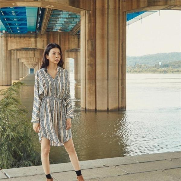 エスニック・ワンピースJ92OOP003new ニットワンピース/ワンピース/韓国ファッション