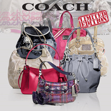 [Coach] Deparment stores Limited edition Poppy/Madison/Legacy Exclusive Sale/Official Genuine Products all stock from USA