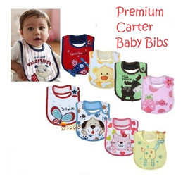 [ Premium ]  Babies Bibs Carters baby infant Rompers GAP bib Mommy kid child cotton