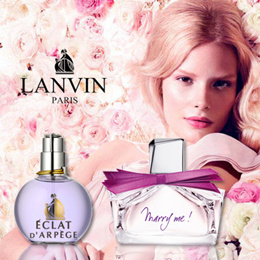PERFUME LANVIN ECLAT WOMEN 100ML EDP SPRAY FRAGRANCE/MARRY ME 75ML RETAIL PACKAGING