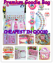 CHEAPEST Goodies Bag★Kids Stationery Set★Birthday gift★ jigsaw puzzles★Projection watch