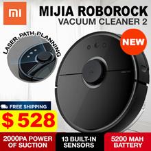 c36a60b9ed686 [Local Warranty] Xiaomi MIJIA ROBOROCK Vacuum Cleaner 2 MIDNIGHT BLACK.  Sweeping Mopping App