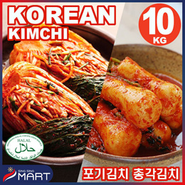 KimChi ★5KG 10KG★ Cabbage Radish Korean Spicy Health Food Rice Side Dish vegetables SINGSINGMART