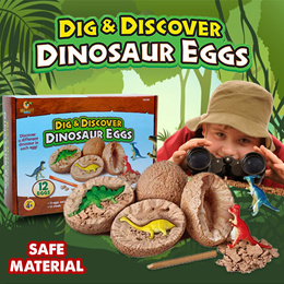 ❤IMP❤ CHEALCHIDRENS DAY GIFT STEM Toy Dig and Discover Dinosaur Egg Party Favor Educational Toy