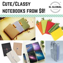 [SG Seller] Korea / Japan design Creative high quality notebooks/planner/diary book/stationery/
