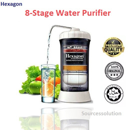 Healthy Life*Hexagon 8-Stage Water Purifier/Tap water Filter / Water Purifier / 8 Layer Filtration