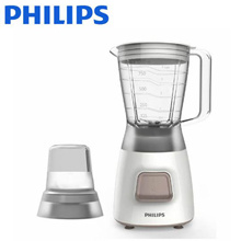 Philips Daily HR-2056 mixer Plastic containers  1.25L Dishwasher available cord storage  New