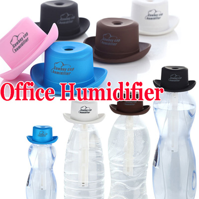 0d7e6b4dc0a 2016 Cowboy hat Mini USB Car Office Humidifier Portable ABS Water Bottle  Cap Air Diffuser Aroma