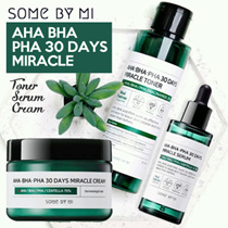 SOMEBYMI AHA BHA PHA 30 Days Miracele SER TONER + SERUM + CREAM