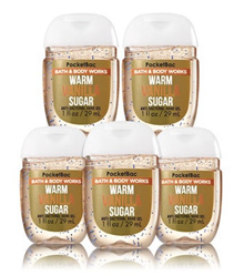 Bath and Body Works WARM VANILLA SUGAR PocketBac Hand Sanitizer 1 fl oz / 29 mL