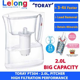 Toray Pt304sv Torayvino PT304SV Filtered Water Pitcher Filtered Bottle Filtered Water Pitcher