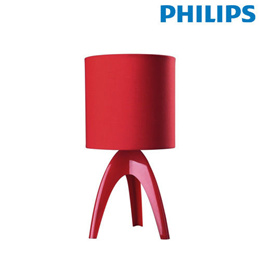 [PHILIPS] MyLiving Isaca 43228 Mini Stand Table Light Lamp Red / White / Black