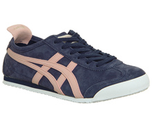 Onitsuka Tiger Mexico 66 Trainers Peacoat Coral Cloud Exclusive