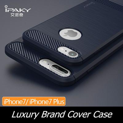 Original ipaky case For iphone 7 7 plus Luxury Brushed silicone TPU hybrid  back cover case