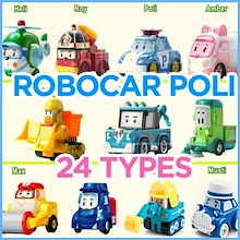 New Model Released ★ 27 TYPES ★ 100% Original Authentic Robocar Poli Die-Cast Toys Lifty Camp Trino