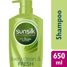 LIVELY CLEAN AND FRESH SHAMPOO 650 ML 650ML