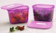 Ventsmart 1.8L (1) - Edisi Tinggi - Wadah Penyimpan Sayur dan Buah di Kulkas - Warna Ungu