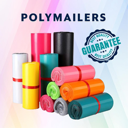 ❤️ WE ARE BACK ❤️ - POLYMAILER BAGS IN 6 COLOURS - Delivery/Packaging/Courier/Mailing/Protection