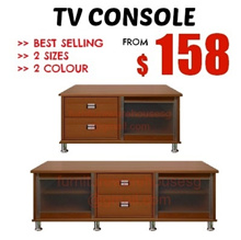 TV CONSOLE / TV RACK NEW LAUNCHING FROM $158 | 2 SIZES | 2 COLOUR | FURNITURE WAREHOUSE