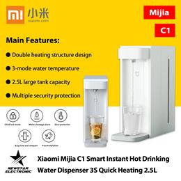Xiaomi Mijia C1 Smart Instant Hot Drinking Water Dispenser 3S Quick Heating 2.5L