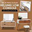 [PROMO] Helsinki Low Console / Meja Rias duduk